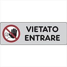 ADESIVO + PANNELLO, 20 X 31 CARTELLO SEGNALETICO IDRANTE Con Adesivo in Vinile e Pannello in Forex