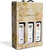 LAUS - Estuche de Vino 3 Botellas'Aromas del Somontano' - Chardonnay 2020, Tinto Joven 2020 y Tinto Crianza 2017 - D.O. Somontano - 3 Botellas de 75 cl - Selectas Variedades
