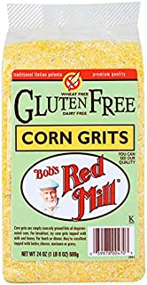 Bobs Red Mill Grits Corn Gluten Free, 24 Oz