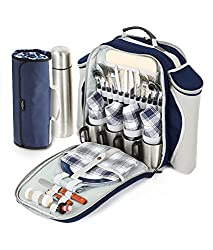 Super Deluxe 4 person picnic backpack
