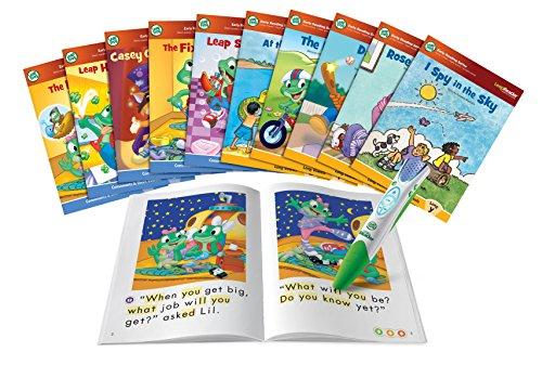 LeapFrog LeapReader System Learn to Read 10 Book Bundle by LeapFrog Enterprises