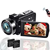 Camcorders, 1080P 30FPS Vlogging Camera, 18X Digital Zoom Video Camera Digital Camcorder