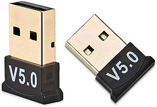 AK - USB Bluetooth 5.0 Adapter Transmitter Bluetooth Receiver Audio Bluetooth Dongle Wireless USB Adapter For Computer - B...