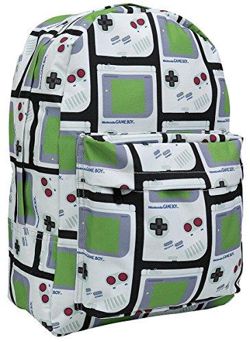 Nintendo Gameboy Rucksack komplett bedruckt