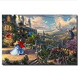 asfrata265 Ungerahmte Malerei Pocahontas Von Thomas Kinkade