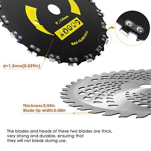 360Tronics Brush Cutter Blade Kit - 9