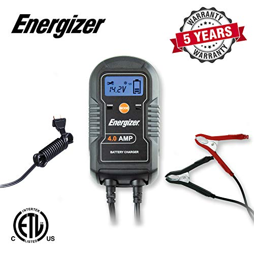 Energizer ENC4A ENC4A 4-Amp Battery Charger/Maintainer