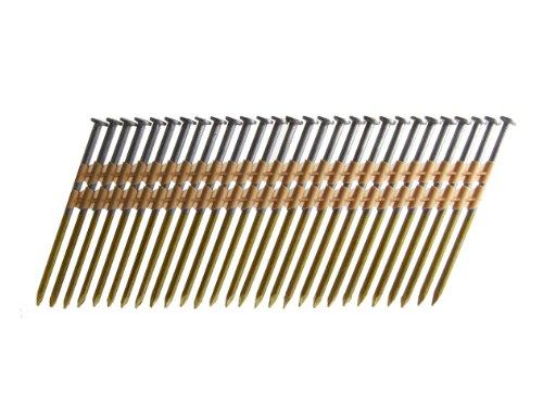 B&C Eagle A312X131HD/22 Round Head 3-1/2-Inch x .131 x 22 Degree Hot Dip Galvanized Smooth Shank Plastic Collated Framing Nails (500 per box)