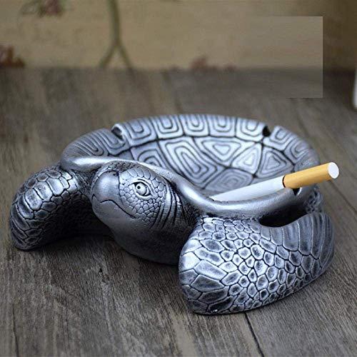 MLOZS Cenicero Cenicero for Cubierta con Tapa cenicero Retro decoración de la Personalidad Creativa del Regalo de cumpleaños