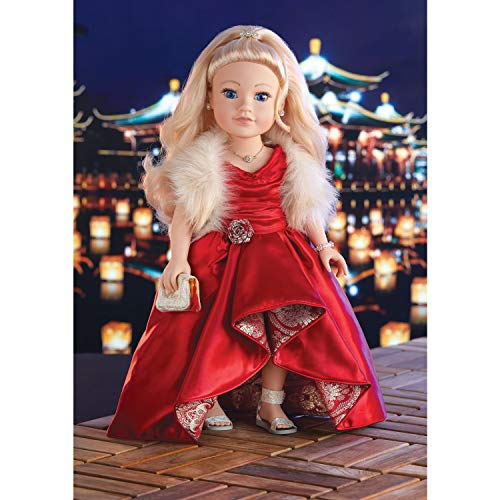 Journey Girls 18 Inch Special Edition Hand Painted Doll with Blonde Hair Brown Eyes, Amazon Exclusive
