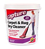 Capture Carpet Dry Cleaner Powder 2.5 lb - Deodorize Stains Smell Moisture from Rug Furniture Clothes and Fabric, Pet Stains Odor and Smoke Too