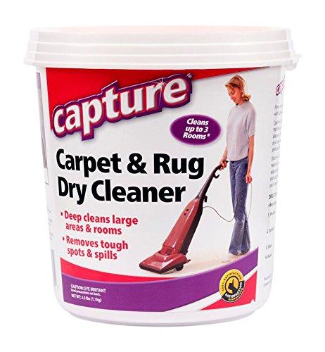 Capture Carpet Dry Cleaner Powder 2.5 lb