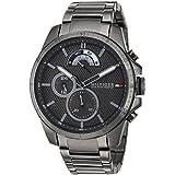Tommy Hilfiger Men's Denim Quartz Watch with...