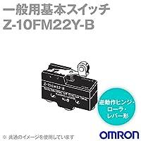 オムロン(OMRON) Z-10FM22Y-B マイクロスイッチZシリーズ (逆動作ヒンジ・ローラ・レバー形) NN