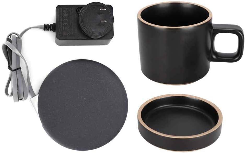 YYQTGG Coffee Quality inspection Mug Warmer Wireless Heating Coaster Industry No. 1 1m Cerami Pad