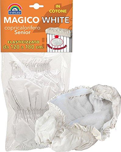 La Briantina COP03936A Copricalor Magico Senior 120-180 White, Tela, Bianco, 120-180 cm