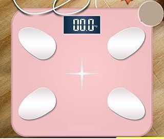 Báscula de baño digital Mini Escala electrónica con gran precisión, pequeño error y una respuesta rápida, conveniente for la medición de grasa corporal báscula peso corporal (Color : B)