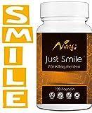 JUST SMILE - IMMUNSYSTEM STÄRKEN - natürliches Mittel aus Pflanzenextrakten und B9 + B12³ für das IMMUNSYSTEM! Zusätzliche Unterstützung für die Psyche - 120 Kapseln natürlicher Stimmungsaufheller²