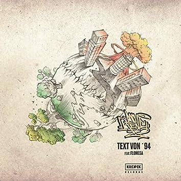 Text Von '94 (feat. Flo Mega & Figub Brazlevic)