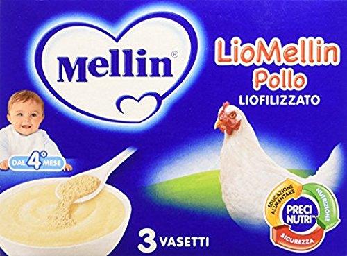 Mellin Liomellin Poulet Liophilisé 9 pots de 10 g