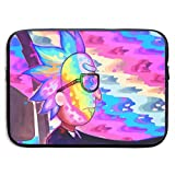 Anime Cartoon Rick Morty Laptop Sleeve Bag 15 Inch Tablet Briefcase Ultra Portable Protective, Laptop Canvas Cover MacBook Air, MacBook Pro, Notebook Computer Sleeve Case