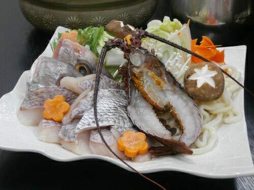 出産 結婚の内祝い(お祝い返し) に 【特選ギフト】 徳島 天然 伊勢海老 と 鯛 の祝い鍋 (SK)軽