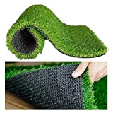 MATERIAL : Made of high quality plastic material, superior resilience and durability. Lush Green colour gives a soothing look to eyes in every weather. It is an all season use carpet, with excellent capability to sustain heat, UV and other adverse we...