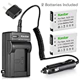 Kastar Battery (2-Pack) and Charger Kit for Samsung SLB-11A and Samsung WB600 WB650 WB700 WB1000 WB2000 CL65 CL80 EX1 HZ25W HZ30W HZ35W HZ50W ST1000 ST5000 ST5500 TL240 TL320 TL350 TL500 Cameras