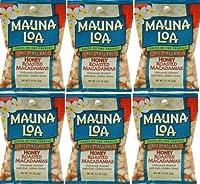 MAUNALOA(マウナロア) マカデミアナッツ Sサイズ【6袋】   (ハニーロースト32g× 6【メール便】)