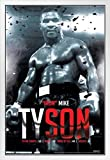 Pyramid America Mike Tyson Boxing Record Sports Poster mit
