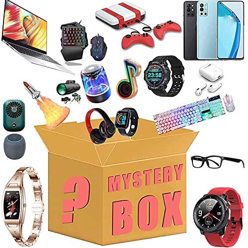 KaiLangDe Caja Misteriosa TeléFonos Ciega MóViles Drone Relojes Inteligentes Nuevos Regalo Posible Sorpresa Aleatorio ElectróNica Suerte Ciega Bluetooth Auricular Gamepad Navidad AñO Nuevo Juego