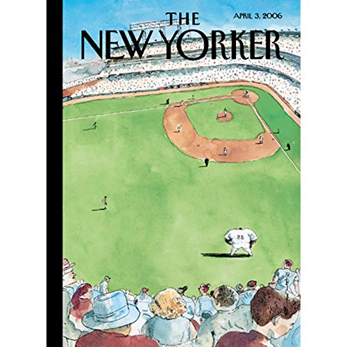 The New Yorker (April 3, 2006) audiobook cover art