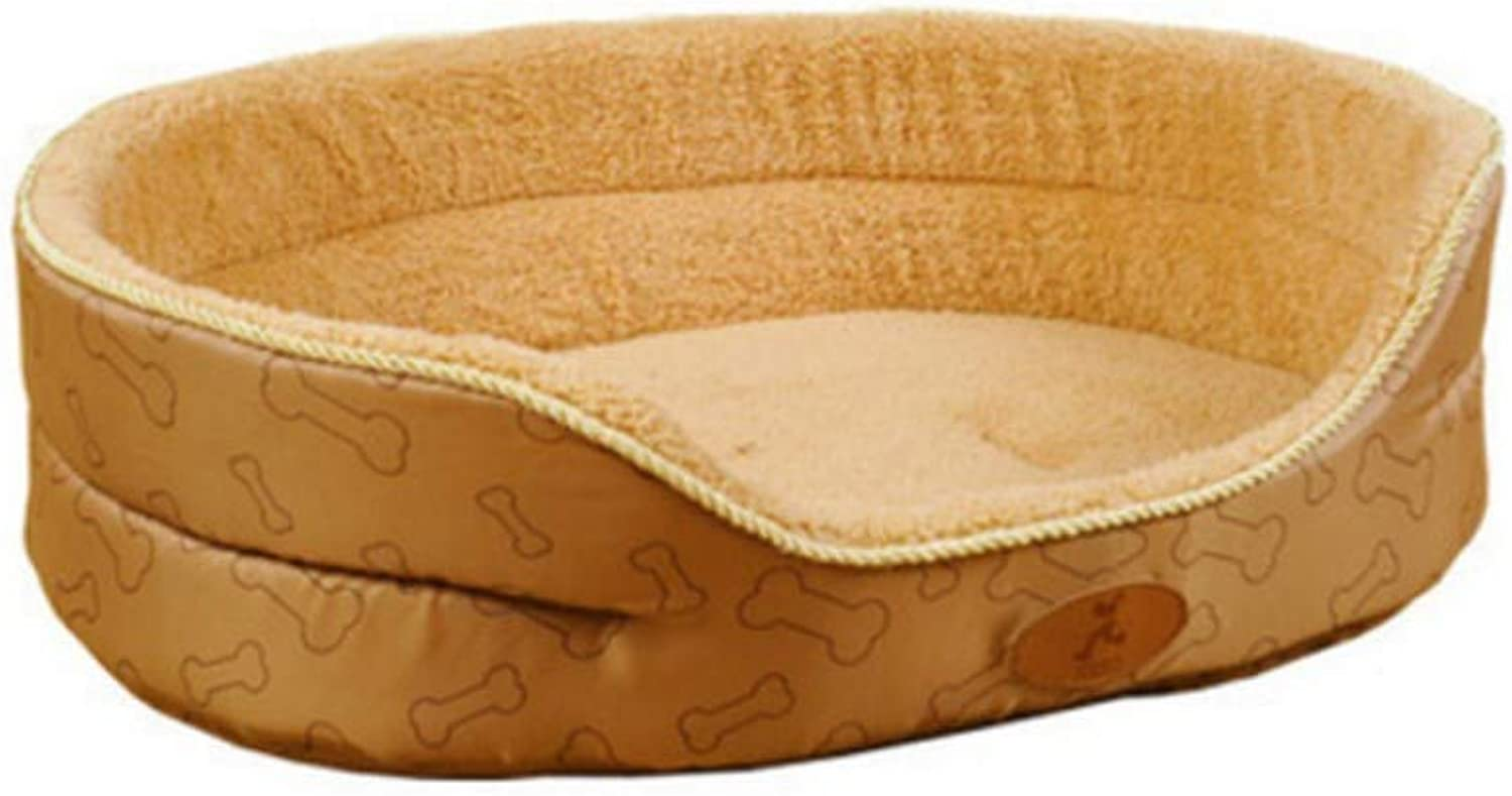GMYQ Pet Dog Bed Winter Warm Puppy Cat Sofa Bed Cushion Cat Dog Pet Mat House Kennel, 76  58  12cm