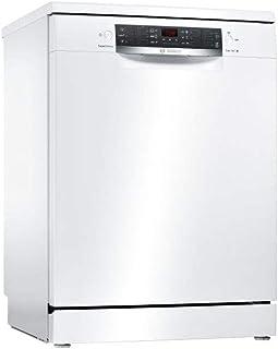Bosch Serie 4 SMS46JW01F lavavajilla Totalmente integrado 13 cubiertos A++ - Lavavajillas (Totalmente integrado, Tamaño completo (60 cm), Blanco, Botones, 1750 m, 165 m)
