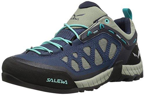 Salewa FIRETAIL 3 - ZUSTIEGS-BERGSCHUH DAMEN, Damen Trekking- & Wanderhalbschuhe, Blau (Dark Denim/Aruba Blue 0359), 36.5 EU, 00-0000063448