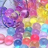 Wuiyepo 5000pcs Perlas de Clear Water Plant Crystal boda de la flor del suelo Jarrón Decoración (colour mixture)
