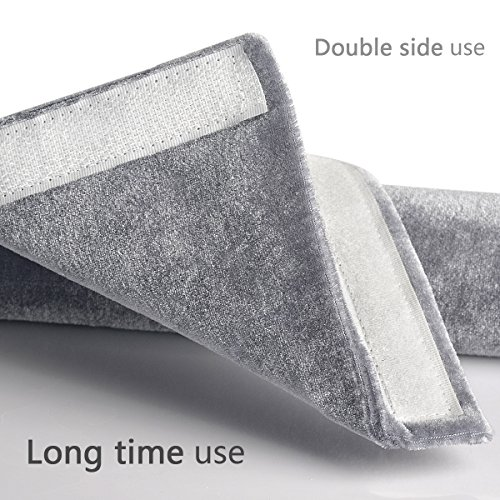 Ougar8 Refrigerator Door Handle Covers,Keep Your Kitchen Appliance Clean From Smudges, Fingertips, Drips, &Food Stains, Perfect For Dishwashers(Gray)