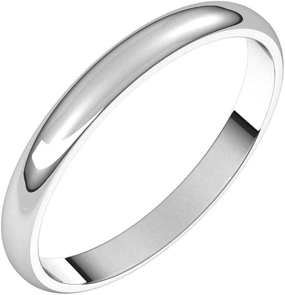 Solid Palladium 2.5mm Wedding Band Classic Traditiona Plain New Free Shipping Ring Popular popular