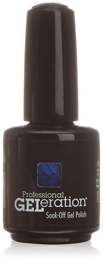 台風八百屋魅惑的なJessica GELeration Gel Polish - Indigo Blues - 15ml / 0.5oz