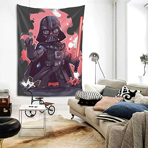 Zulfdli DAR-Th Va-Der Tapestry Wall Hanging Home Decorations Machine Washable Tapestries for Outdoor Indoor Bedroom Living Room Dorm Decor 80x60 Inch