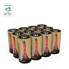BATTERY FOR ARLO SECURITY CAMERAS - The world's only innovative rechargeable battery specifically designed to work with Arlo Security Cameras seamlessly. Works with Arlo Wire-Free HD Security Cameras (VMC3030/VMK3200/VMS3330/3430/3530) **Only use Ten...
