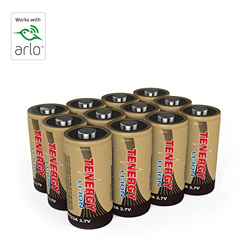 Arlo Certified Tenergy 3.7V Rechargeable Battery for Arlo Security...