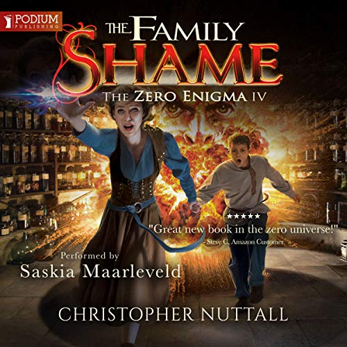 The Family Shame     The Zero Enigma, Book 4              By:                                                                                                                                 Christopher G. Nuttall                               Narrated by:                                                                                                                                 Saskia Maarleveld                      Length: 12 hrs and 7 mins     21 ratings     Overall 4.7