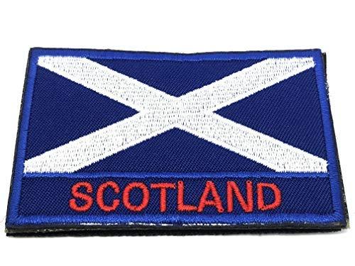 Drapeau de l'Écosse brodée Airsoft Paintball Patch