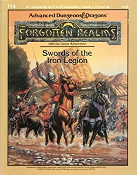 I14 Swords of the Iron Legion - Book  of the Advanced Dungeons and Dragons Module #C4
