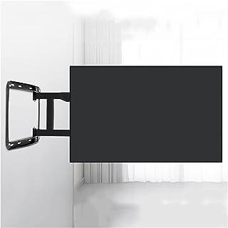 """Adjustable TV stand 32""""-75"""" تلفزيون قوس أربعة ذراع التحمل امتداد تمديد الميل الجنسي تلفزيون جدار ثابت قوس تركيب، ماكس VESA..."""