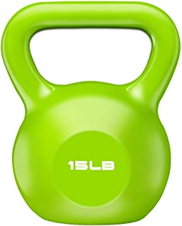 ELZXUN Kettlebell Set 10lb 15lb 20lb Workout Exercise Equipment for Ballistic,Home Gym,Cross Training, Free Weight, Weight...