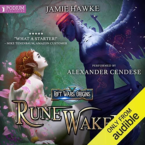 Rune Waker audiobook cover art