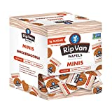 Rip Van Wafels Snickerdoodle Mini Stroopwafels - Low Carb Snacks (3g Net Carbs) - Non GMO Snack - Keto Friendly - Office Snacks - Low Calorie Snack (34 Calories) - Low Sugar (1g) - 32 Pack