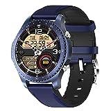 l b s Reloj inteligente para hombre con termómetro de...